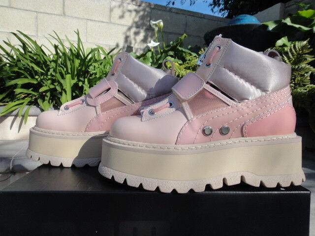 Fenty PUMA by Rihanna Strapped Women's Sneaker Platform BOOTS Size 9.5us 7uk