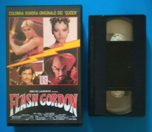 VHS-Film-Ita-Fantascienza-FLASH-GORDON-queen-ornella-muti-no-dvd-cd-lp-mc-V153