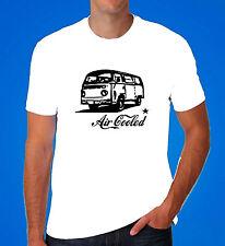 VW Camper van kombi bus Volkswagen surf dub aircooled T2 Bay T Shirt retro cool