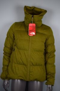 00ce6932fe4 NWT! $600!! Womens North Face CRYOS Wool Down Jacket sz M Green ...