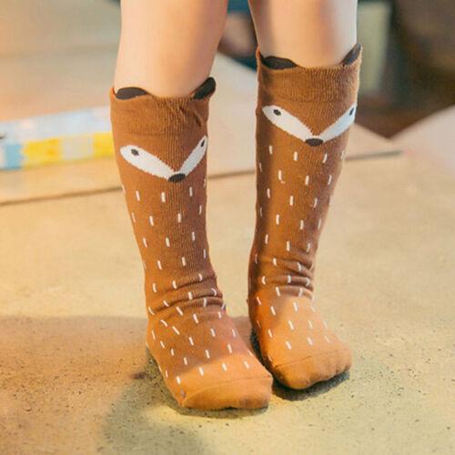 Baby Kids Socks Knee High Long Soft Socks For Toddler Girl Clothing Accessories