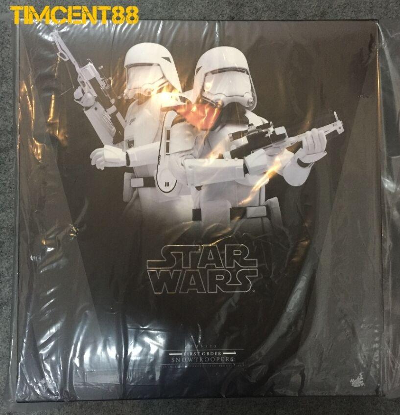 Hot Toys MMS323 Star Wars Conjunto de primer orden Snowtrooper oficial Snowtroopers