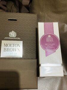 MOLTON-BROWN-IRA-Ciruela-Eau-de-Toilette-50ml-EDT-Navidad-Perfume-Giftbag-BN-NUEVO