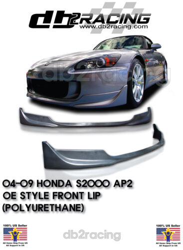 Urethane OE-Style Front Lip Fits 04-09 Honda S2000 AP2