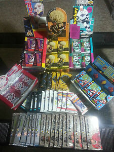 100-VINTAGE-OLD-FACTORY-SEALED-LOT-OF-HOCKEY-CARDS-DADS-OLD-COLLECTION