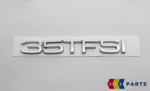 Neuf D/'Origine Audi Q3 Q5 Q7 Arrière 35 TFSI Emblème Logo Chrome 8U0853744