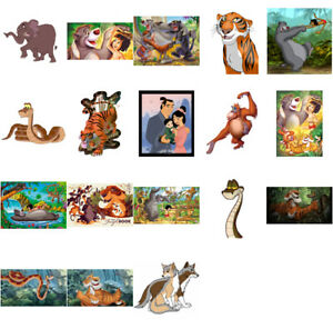 Audacieux Jungle Book Caractères, Iron On T Shirt Transfert. Sélectionnez L'image Et La Taille-afficher Le Titre D'origine
