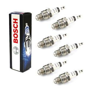 6x-Saab-900-MK2-2-5-24-V6-Original-Bosch-Bujias-Super-4