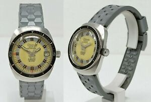 Orologio Altanus diver watch automatic clock diving sub montre 70's reloj vintag
