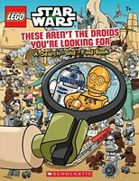 Lego Star Wars, Children Activity Books Science Fiction Search- And -find Kids on sale