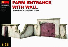 MIN35535 - Miniart 1:35 - Farm Entrance with Wall