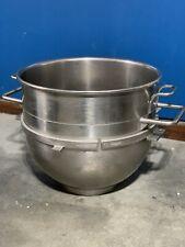Hobart Vml 80 Quart Stainless Steel Bowl M802 V1401 Oem Hobart With Bowl Ring