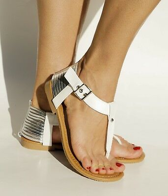 CALI t-strap sandals gladiator style sandals lace up or buckled two in one sandals thong sandals