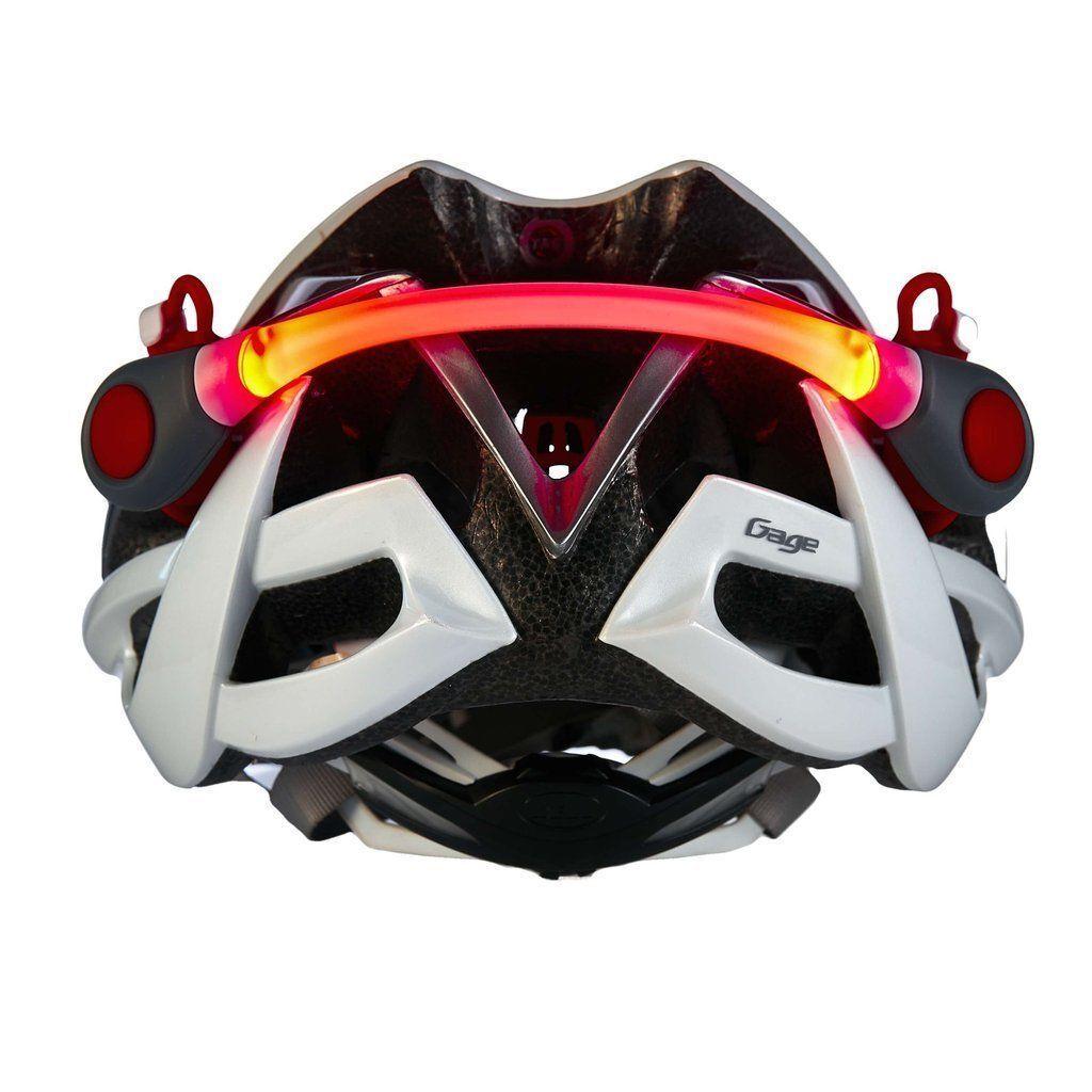 Super Bright LED Light for  Helmet - 2 red led lights- Muddyfox- free p&p