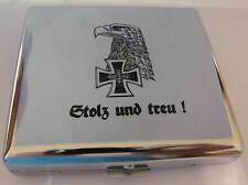 """Zigaretten Etui Wehrmacht """"Stolz und treu!"""" ****NEU NEU ****"""