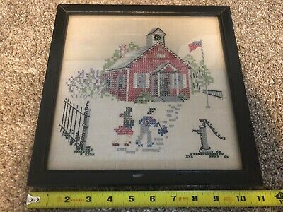 "New finished completed cross stitch/""Sweet House/""Needlepoint home decor gift"