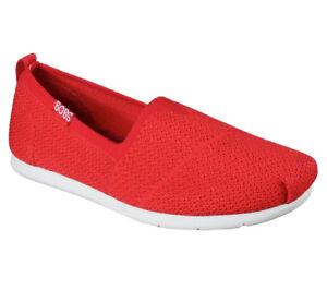Damen Sneaker Slip Ons Rot