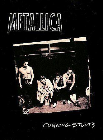 Metallica Cunning Stunts Dvd 1998 2 Disc Set Parental Advisory Explicit Lyrics For Sale Online Ebay