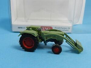 WIKING-089003-FENDT-TRAKTOR-FARMER-2S-MIT-FORNTLADER-1-87
