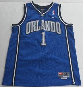 Tracy McGrady NIKE Size Youth Medium +2 Length Jersey Sewn Orlando ... 860141368
