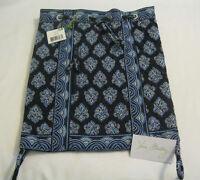 Vera Bradley Calypso Blue Backsack Purse Diaper Tote Baby Shoulder Bag Beach
