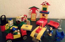A NE PAS RATER MICKEY VINTAGE LEGO -COLLECTION DISNEY- LEGO MICKEY & MINNIE BEG