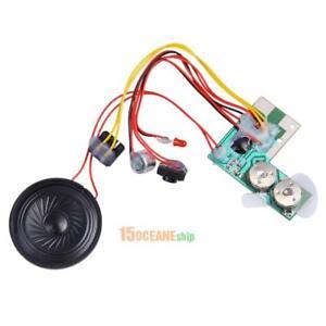10S-Musik-Soundmodul-Decoder-Aufnahme-Sound-Modul-Lautsprecher-Steuertaste-Mic