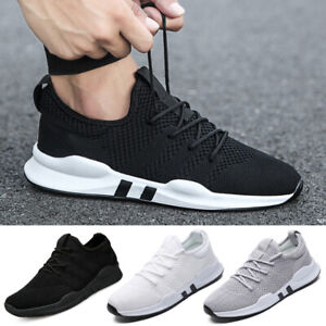 c1b27aa7386 Image is loading Fashion-Mens-Sneakers-Trainers-Breathable-Sport-Running -Boys-