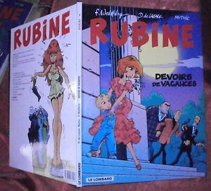 RARE-BD-EO-RUBINE-N-7-2000-WALTHERY-DE-LAZARE-MYTHIC-LE-LOMBARD