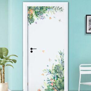 Green-Leaves-Garden-Wall-Stickers-Door-Bedroom-Home-Sofa-Family-Art-Decor-Hot