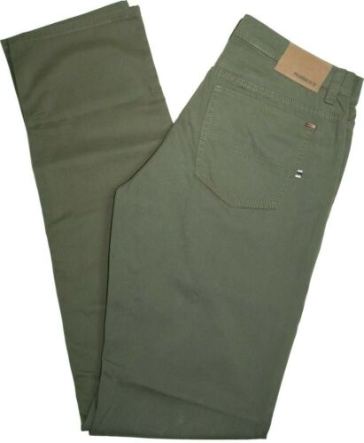 0250 Per recinti Stretch Pantaloni CARTER Verde Oliva EXTRA LUNGA
