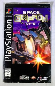 Space-Griffon-Sony-PlayStation-1997-Instruction-Manual-ONLY-NO-GAME-Longbox