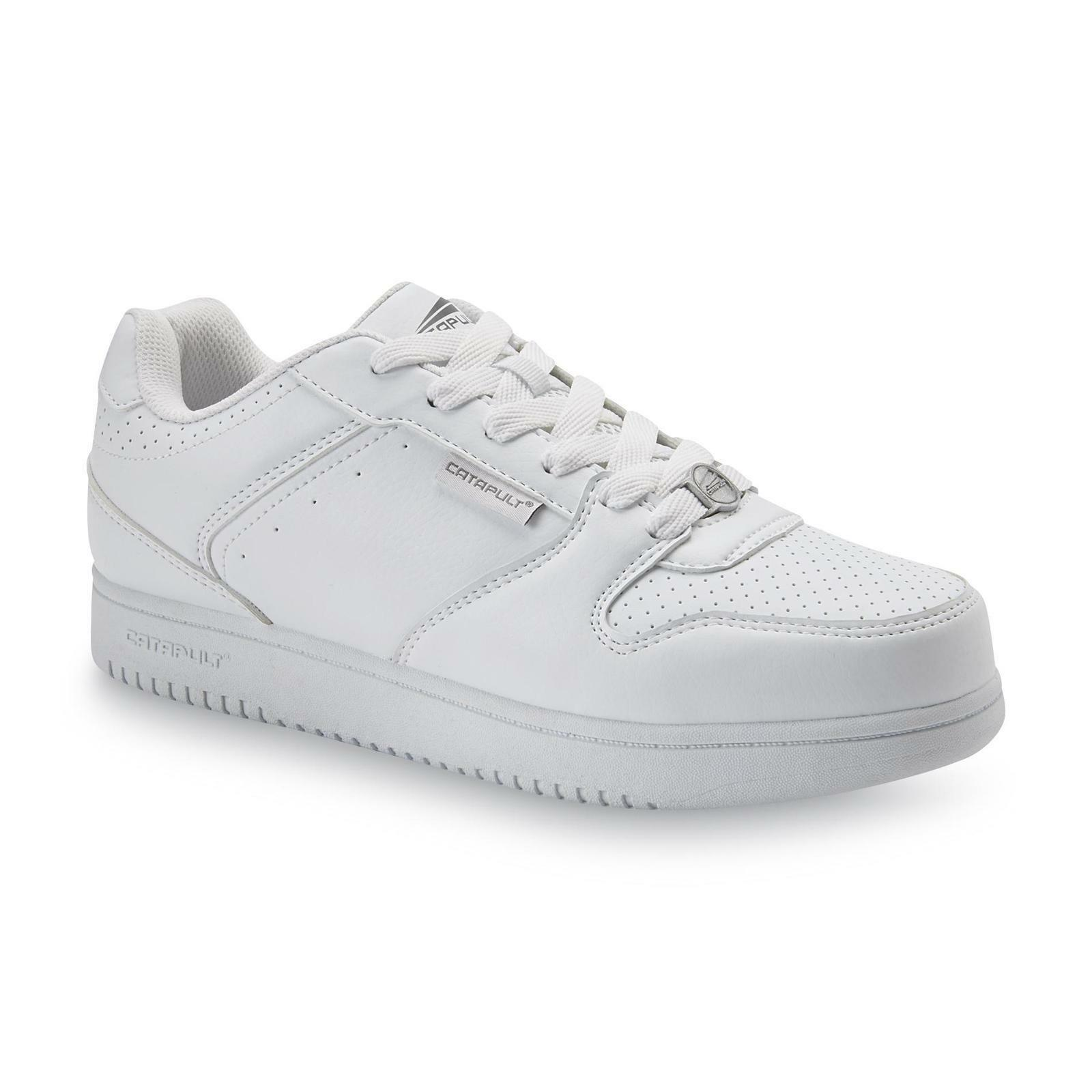 Catapult Men's Challenge White Basketball Athletic Tennis shoes