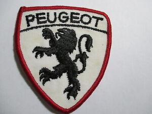 Peugeot Patch Vintage Original NOS  RARE Auto Car Wheels Sports Car Luxury Car