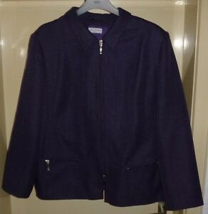gina amati damen blazer jacke gr 48 ebay. Black Bedroom Furniture Sets. Home Design Ideas
