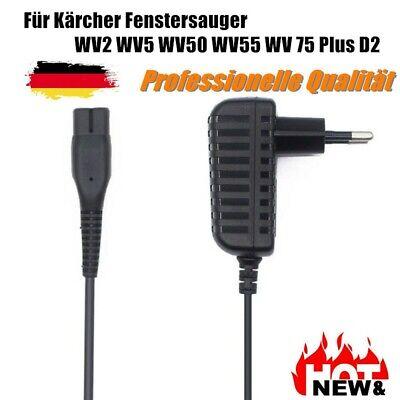 Ladegerät Netzteil für Kärcher Fenstersauger WV2 WV5 WV50 WV55 WV 75 Plus