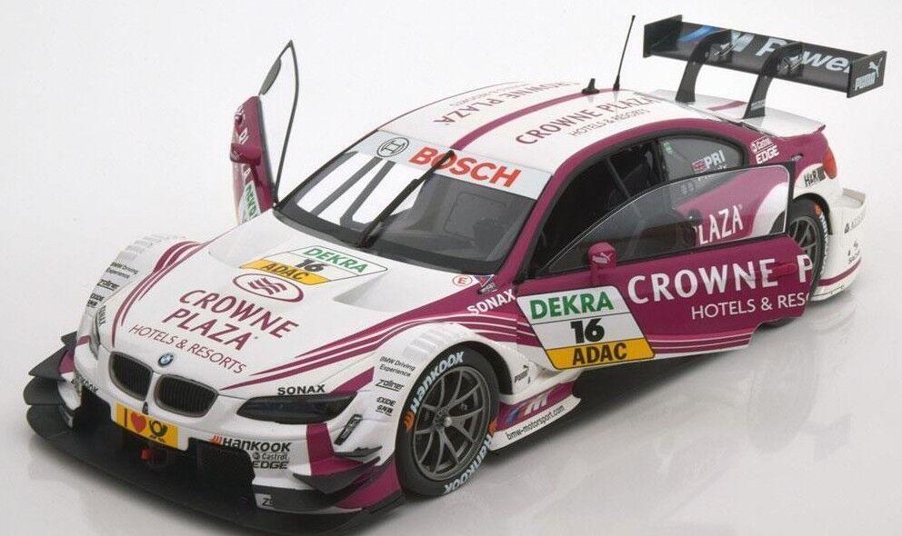 MINICHAMPS 2013 BMW M3 DTM Crowne Plaza Priaux #16 1:18*New!