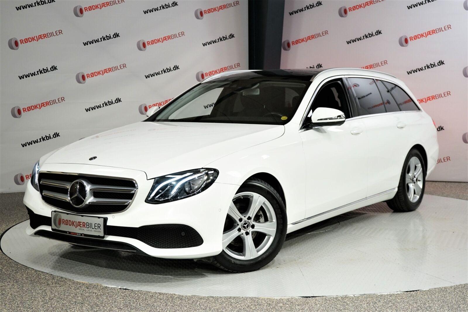 Mercedes E220 d 2,0 Avantgarde stc. aut. 5d - 194.900 kr.