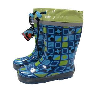 MaxiMo-Regenstiefel-Gummistiefel-Naturgummi-Jungen-Kinder-Wasserdicht-Gr-24-30