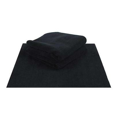 Chemical Guys Happy Ending Ultra Plush Edgeless Microfiber Towel Black