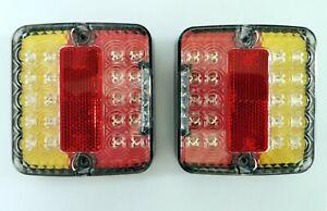 LED-Ruecklicht-Bremslicht-Blinker-Kombination-rechteckig-fuer-ATV-PKW-und-Anhaenger