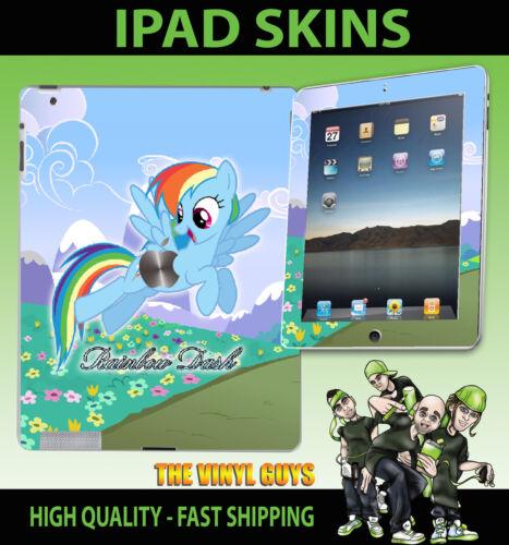 4G /& wifi vinyle autocollant rainbow DASH my little pony skin 3G Apple ipad 2 3