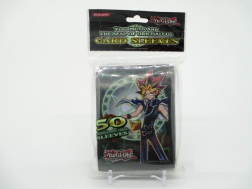 Yugi Mutant And The Seal of Orichalcos Card Sleeves//Cartes Enveloppes 50x Yu-Gi-Oh