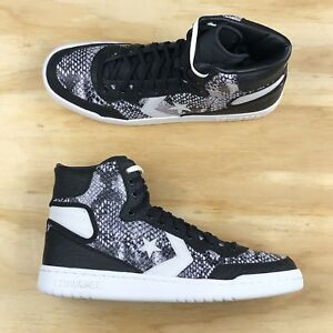 403d2b4c68cd26 Converse Fastbreak High Top Snake Skin Python Black White 160307C ...