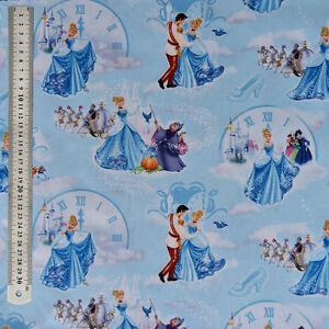 Image Is Loading Disney Princess Cinderella At The Ball Fabric 100