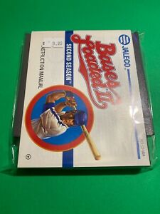 🔥 💯 WORKING NINTENDO NES RARE GAME Cartridge + MANUAL JALECO - BASES LOADED 2