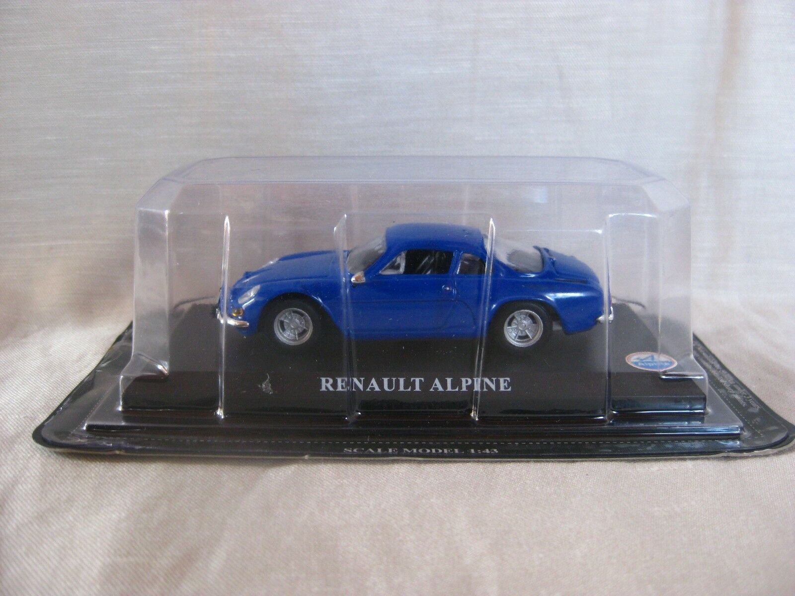 RENAULT ALPINE bleu 1 43 DIE CAST MODEL 20th Siècle Grande voitures collection