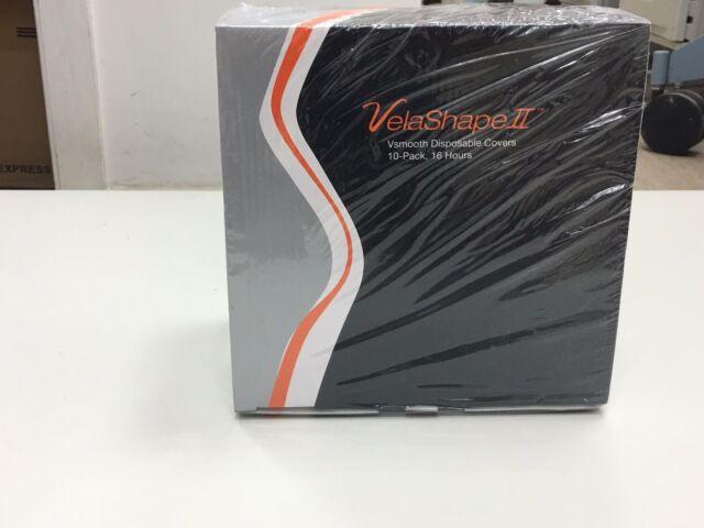 ✅ Syneron Candela VelaShape II, 2 Vsmooth Disposable Covers 10-pack 16 Hours