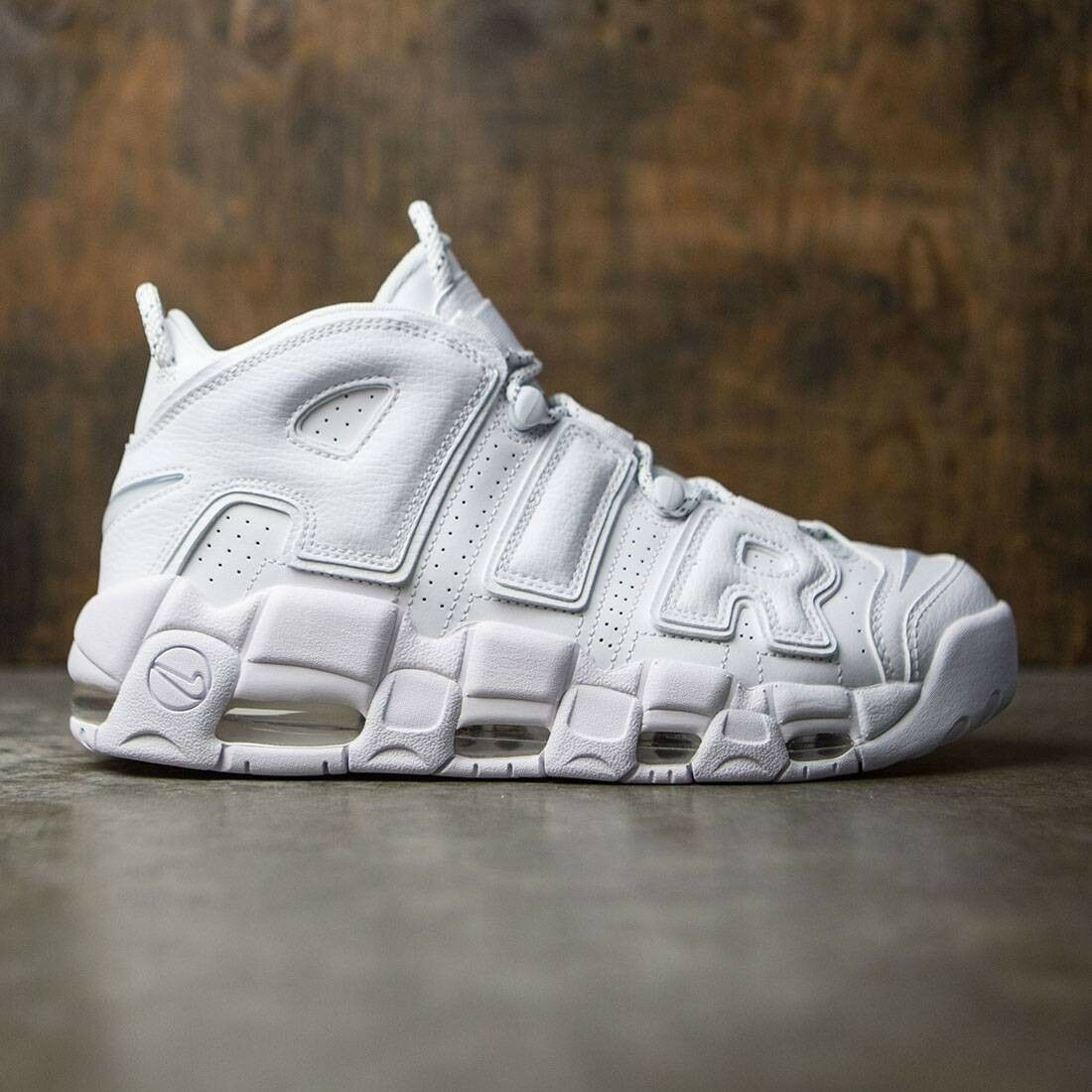 Nike Air More Uptempo Retro Triple White Size 8. 921948-100 Jordan Pippen Kobe