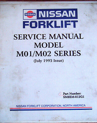 Nissan forklift repair manual